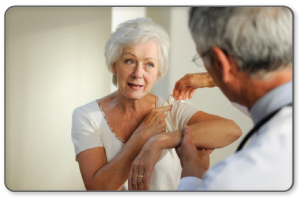 conservative treatments used in conjunction with PT can reduce healing time and improve rotator cuff range of motion.